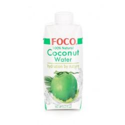 Кокосовая вода FOCO, 330 мл/1000 мл