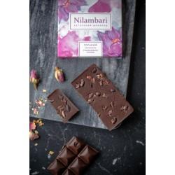 Шоколад Nilambari горький с какао бобами и солью, 65 г