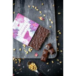 Шоколад Nilambari горький с кедровым орехом, 65 г