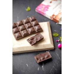Шоколад Nilambari горький без сахара с шелковицей и мятой, 65 г