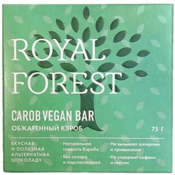 """Веганский шоколад из обжаренного кэроба """"Royal Forest"""", 75 г"""
