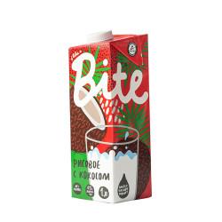 """Напиток Bite """"Рисовый с кокосом"""", пастеризованный, 1000 мл"""