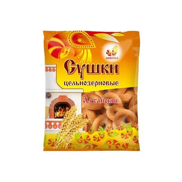 Сушки цельнозерновые Алтайские, 250 г
