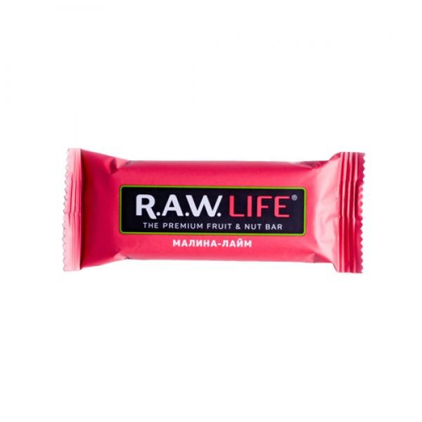 "Батончик ""RAW LIFE"" Малина-лайм, 47 г"