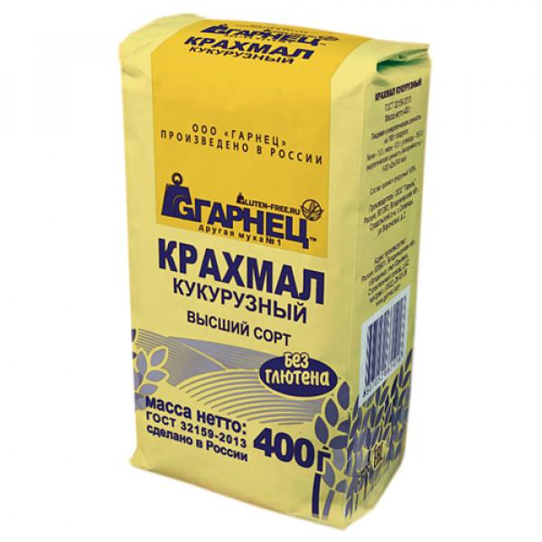 """Крахмал """"Кукурузный"""" Гарнец, 500 г"""