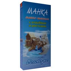 """Манка """"Ячменно-пшеничная"""" с отрубями и ростками Беловодье, 500 г"""