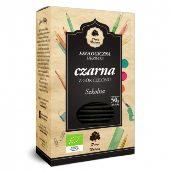 Чай черный школьный ЭКО в пакетиках, 25х2 г