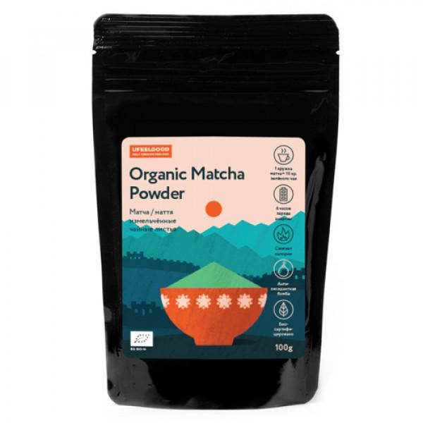 "Чай Матча Organic ""Ufeelgood"", 100 г"