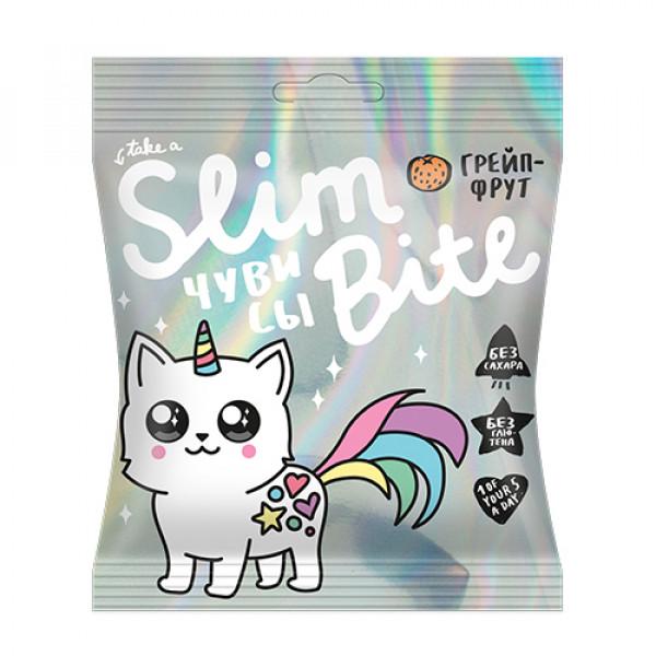 "Чувис Slim Bite Unicorn ""Грейпфрут"", 20 г"