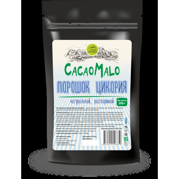 """Порошок цикория натуральный """"CACAO MALO"""" Индия, 200г"""