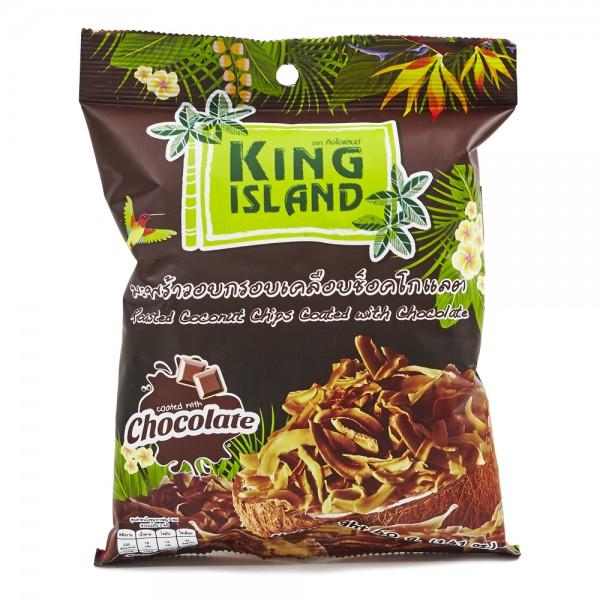 Кокосовые чипсы с шоколадом, 40 г