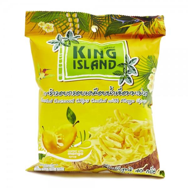Кокосовые чипсы с манго, 40 г