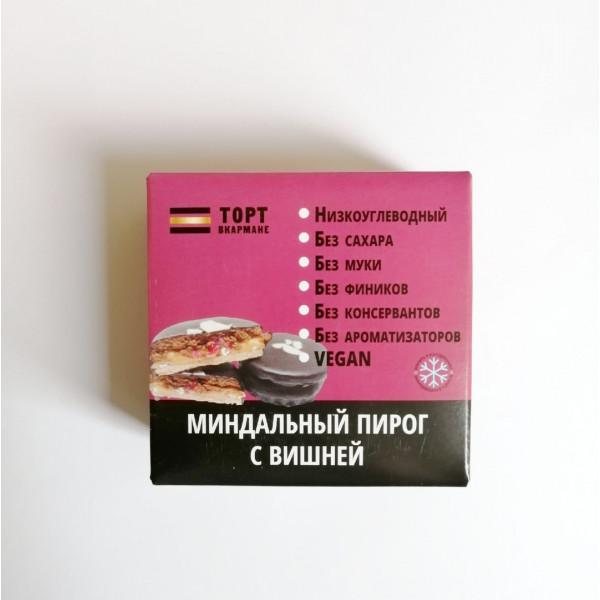 """Торт в Кармане """"Миндальный пирог с Вишней"""", 85 г"""