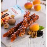 Абрикосовая чурчхела с грецким орехом и черносливом, 80 г