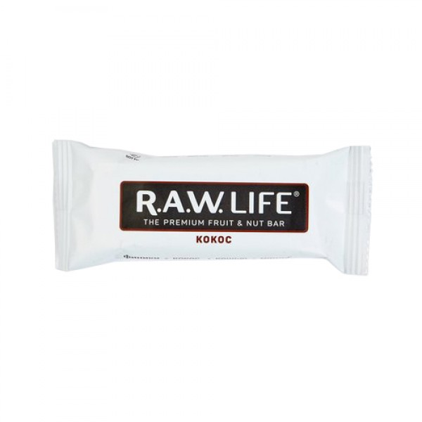 "Батончик ""RAW LIFE"" Кокос, 47 г"