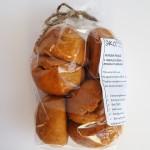 Пряники имбирные с черносливом и грецким орехом