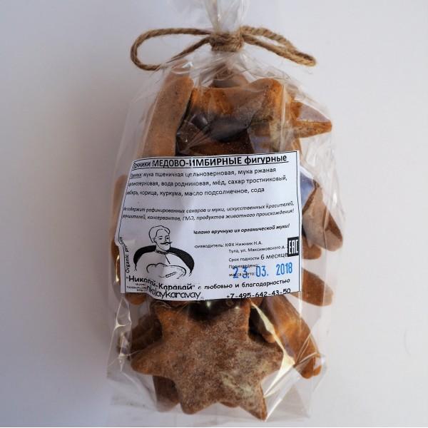 Печенье-пряники имбирные