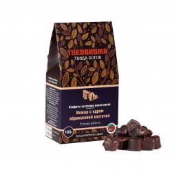 """Конфеты шоколадные без сахара """"Инжир с ядром абрикосовой косточки"""" THEOBROMA Пища Богов, 160 г"""