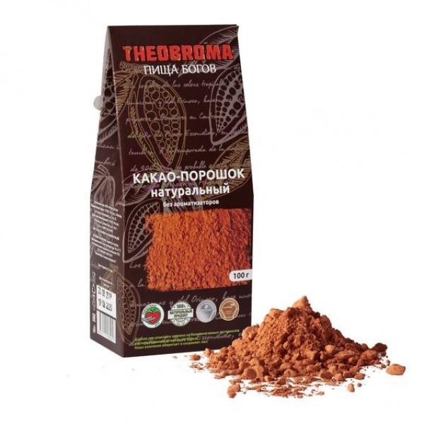Какао-порошок THEOBROMA Пища Богов, 100г/250г