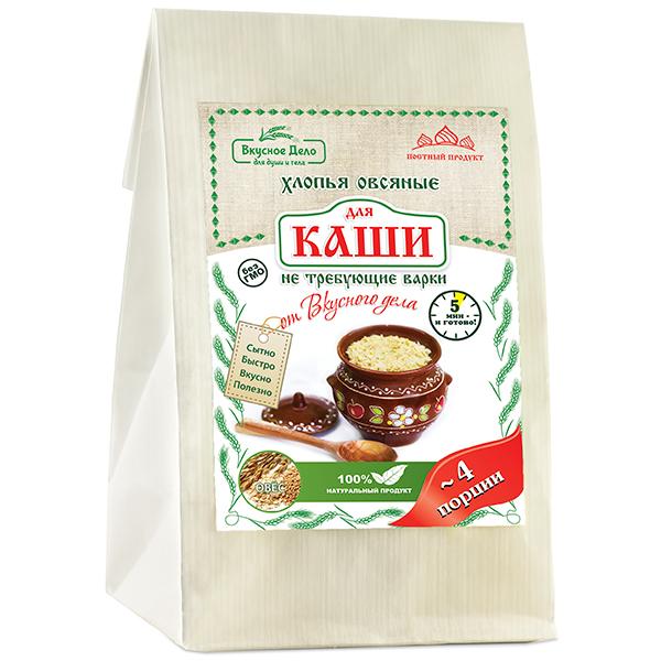 """Каша овсяная """"Вкусное дело"""", 175 г"""