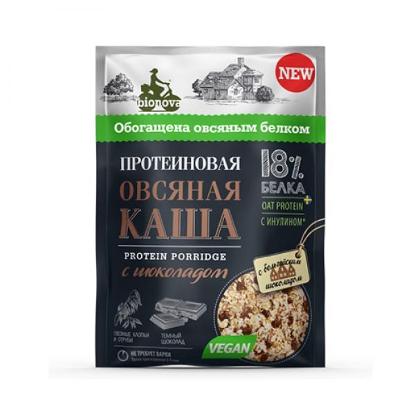 """Каша протеиновая """"Овсяная с шоколадом"""" Bionova, 40 г"""