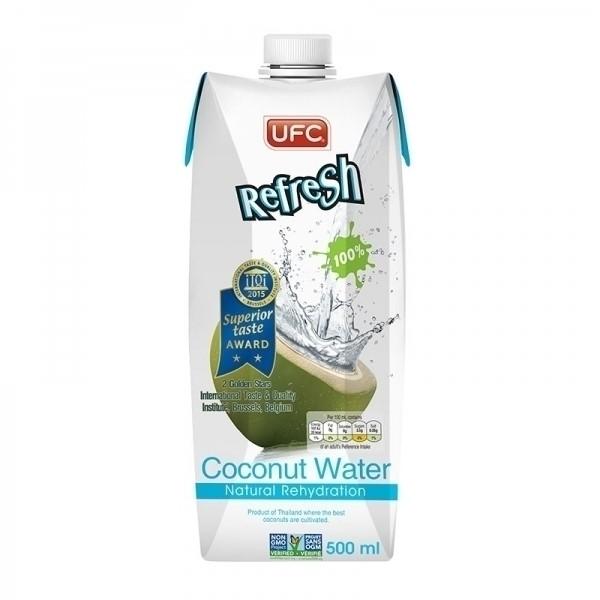 "Кокосовая вода без сахара ""UFC REFRESH"", 500 мл"
