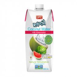 """Кокосовая вода без сахара """"UFC REFRESH"""" с Арбузным соком, 500 мл"""