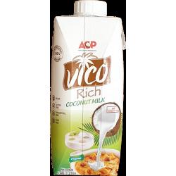 "Кокосовое молоко ""ACP"" 17-19% БЕЗ добавок, 330 мл"