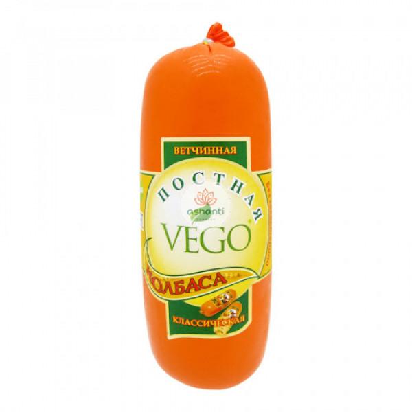 """Колбаса """"Vego"""" ветчинная классическая, 400 г"""