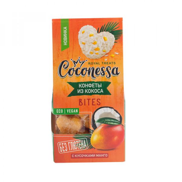 """Конфеты кокосовые """"Манго"""" Coconessa, 90 г"""
