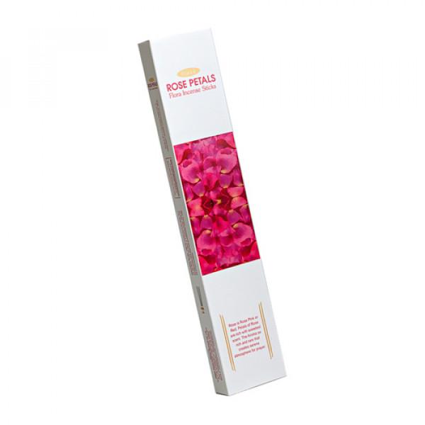 """Ароматические палочки """"Лепестки розы"""" Aasha Herbals Индия, 10 шт"""