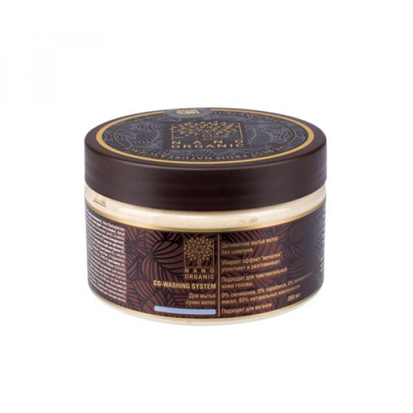 Ковошинг-бальзам для мытья сухих волос Nano Organic, 300 мл