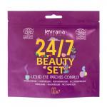 """Набор жидких патчей """"Beauty set 24/7"""" Levrana, 7 шт."""