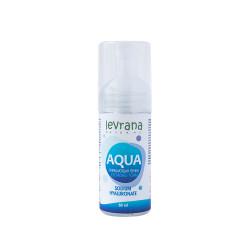 """Пенка для умывания """"Aqua"""" с гиалуроновой кислотой Levrana, 60 мл/150 мл"""