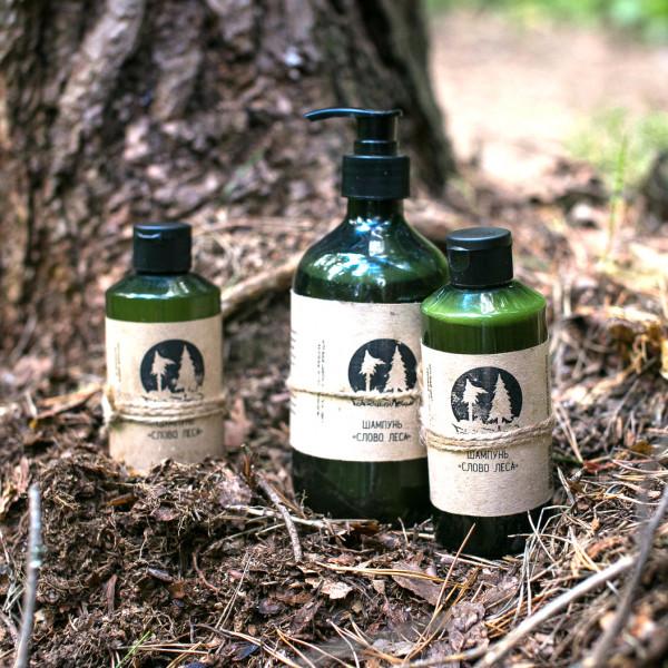"""Шампунь для нормальных волос """"Слово леса"""" Голодный леший, 200 мл"""