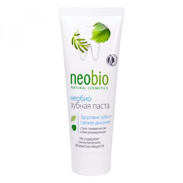 """Зубная паста без фтора """"NeoBio"""", 75 мл"""