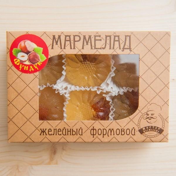Мармелад желейный формовой с фундуком, 200 г