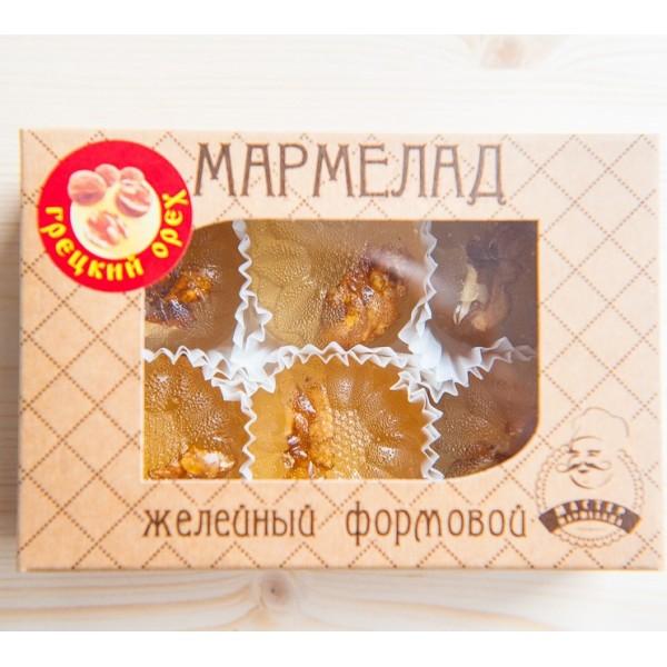 Мармелад желейный формовой с грецким орехом, 200 г