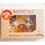 Мармелад желейный формовой с кедровым орехом, 200 г