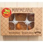 Мармелад желейный формовой с миндалём, 200 г