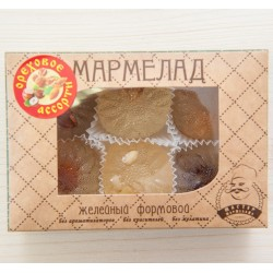 Мармелад желейный формовой АССОРТИ с орехами, 200 г