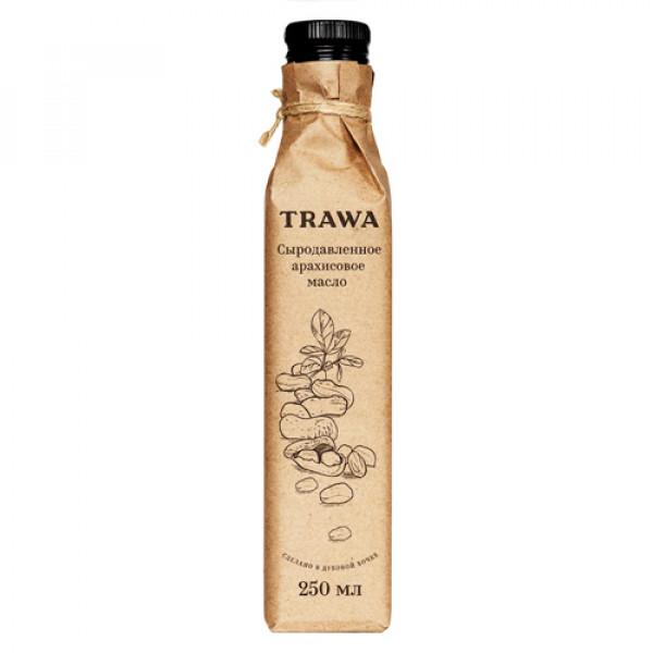 """Масло Арахисовое сыродавленное """"Trawa"""", 250 мл"""