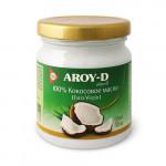 Кокосовое масло 100% Extra virgin AROY-D, 180 мл/450 мл