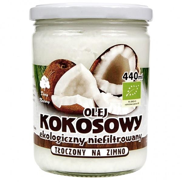 Кокосовое масло ЭКО, 440 мл