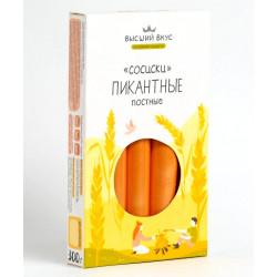 """Сосиски пшеничные """"ПИКАНТНЫЕ"""" Высший вкус , 300 г"""