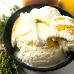 """Мороженое """"Персик и тимьян"""" Friky, 230 г"""