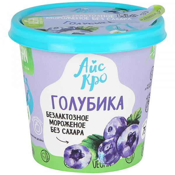 "Сорбет Айскро ""Голубика"" без сахара, 75 г"