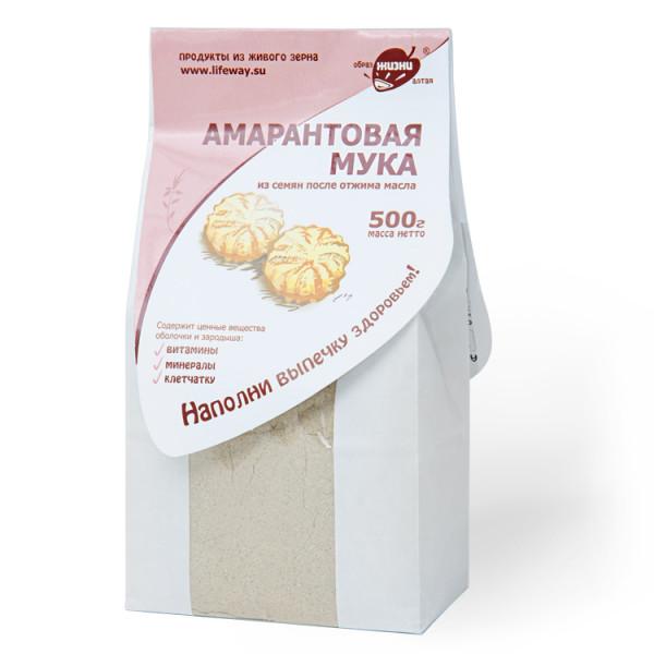 """Мука амарантовая """"Образ жизни"""", 500 г"""
