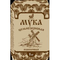 """Мука пшеничная цельнозерновая """"Дивинка"""", 1 кг"""