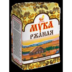 """Мука ржаная цельнозерновая """"Дивинка"""", 1 кг"""
